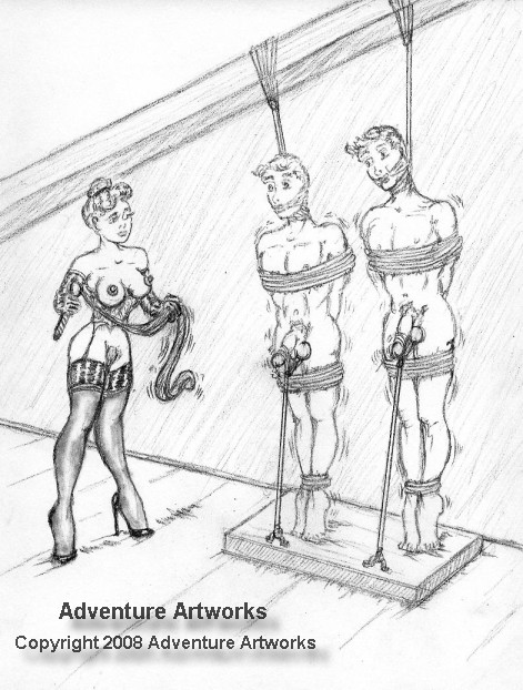 Femdom drawings of female dominations